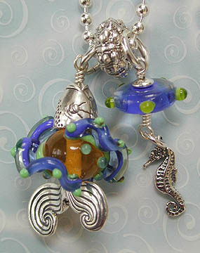 Fish and Friends Pendant