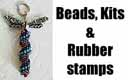 Awesome Lampwork Beads and Rubber Stamps for Beaders!!