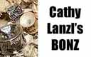 Cathy Lanzl's BONZ sterling findings collection...Charms and spacers cast directly from nature!